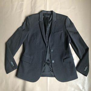 Theory Gray Blazer-Jacket Size 10